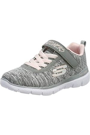 Skechers Girls' SKECH APPEAL 3.0 Trainers, Grey (Gray Mesh/Lt Pink Trim Gylp)
