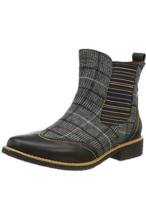 LAURA VITA Damen COCRALIEO 06 Chelsea Boots, (Noir Noir)