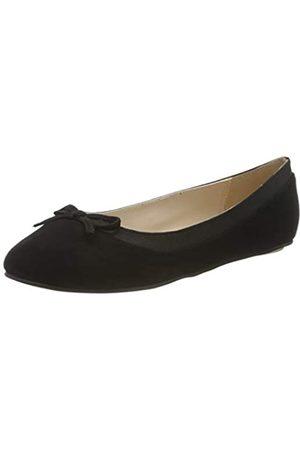 Buffalo Damen ANNELIE Geschlossene Ballerinas, (Black 001)