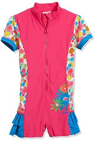 Playshoes Mädchen Blumenmeer mit UV-Schutz Einteiler
