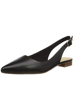 Clarks Damen Laina15 Sling Slipper, (Black Leather Black Leather)