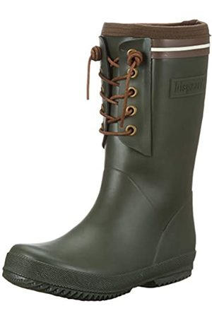 Bisgaard Unisex-Kinder Rubber Boot-LACE Thermo Gummistiefel, (Green 30)