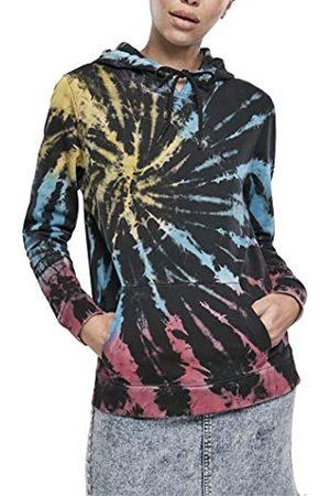 Urban classics Womens Kapuzenpullover Ladies Tie Dye Hoody Hooded Sweatshirt