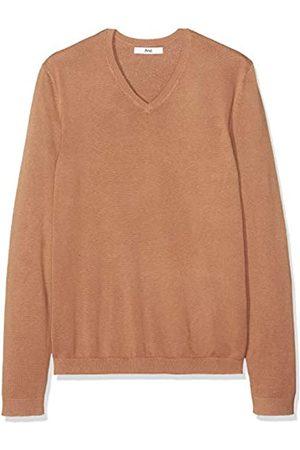 FIND Amazon-Marke: Pullover Herren mit V-Ausschnitt und Rippenbündchen, XL