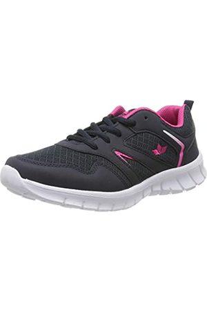 LICO Damen Skip Sneaker, (Marine/Pink Marine/Pink)