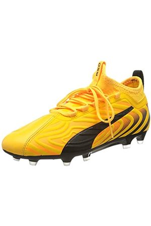 Puma Unisex-Kinder One 20.3 Fg/ag Jr Fußballschuhe, (Ultra Yellow Black- Alert 01)