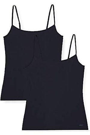 Skiny Damen Advantage Micro Spaghettishirt 2er Pack Unterhemd