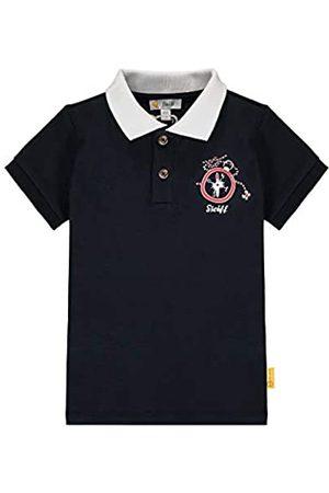 Steiff Jungen Poloshirt, Blau