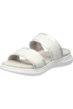 Jana 100% comfort Damen 8-8-27207-24 Pantoletten, (White 100)