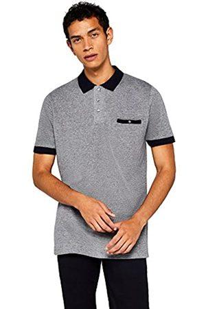 FIND Amazon-Marke: Herren Poloshirt mit farblich abgesetzten Details, L