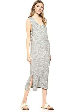 Daily Ritual Amazon-Marke: Damen superweiches Frottee-Kleid, ärmellos mit V-Ausschnitt