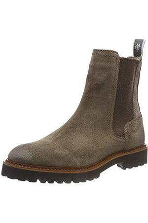 Marc O' Polo Damen Flat Heel Chelsea Boots, (Taupe 717)