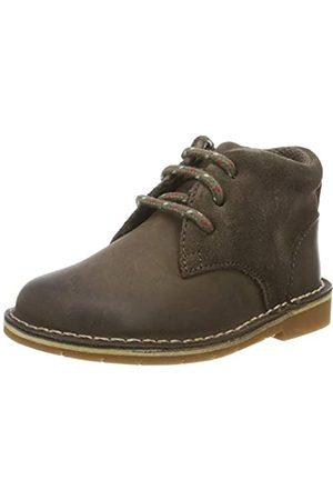 Clarks Jungen Comet Radar T Klassische Stiefel, (Brown Leather Brown Leather)