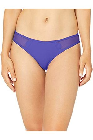 Seafolly Damen Petal Edge Hipster Bikinihose, Reflex Blue)