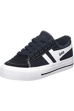 Gola Unisex-Kinder Cka667 Sneaker, (Black/White BW)