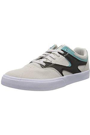 DC Herren Kalis Vulc Skateboardschuhe, (Grey/Black/White Xskw)