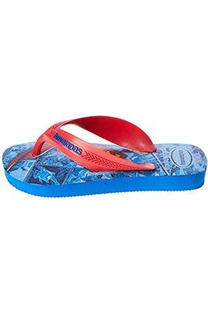Havaianas Unisex-Kinder Max Herois Zehentrenner, Mehrfarbig (Blue Star 3847)