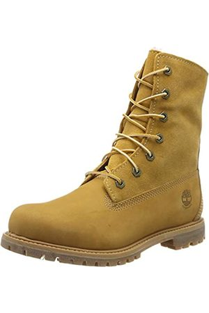 Timberland Authentics FTW_Authentics Teddy Fleece WP Fold Down 8329R, Damen Stiefel, (Wheat)