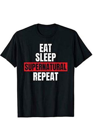 That's Life Brand Eat Sleep Supernatural Repeat T Shirt