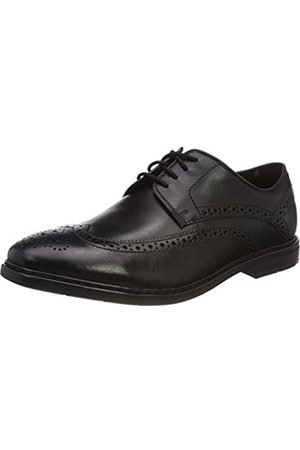Clarks Herren Banbury Limit Brogues, (Black Leather)