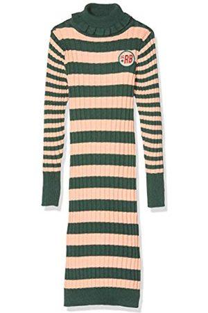 Scotch&Soda Mädchen Turtle Neck Rib Knit Dress in Long Length Kleid