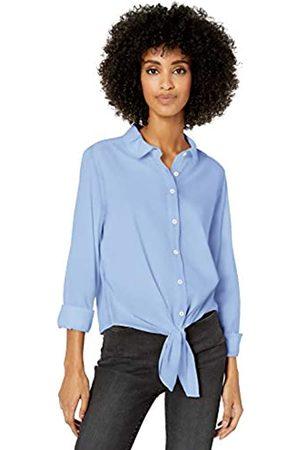 Goodthreads Lightweight Poplin Tie-Front button-down-shirts