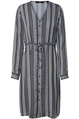 Vero Moda Damen VMJUNA L/S Knee Shirt Dress WVN Kleid