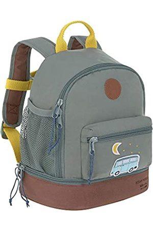 LÄSSIG Kinderrucksack mit Brustgurt Kindergartentasche Kindergartenrucksack / Mini Backpack, Adventure Bus, 27 cm