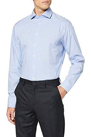 Seidensticker Herren Kariertes Hemd Mit Kent-Kragen Und Einem Hohen Shaped Fit – Langarm Businesshemd