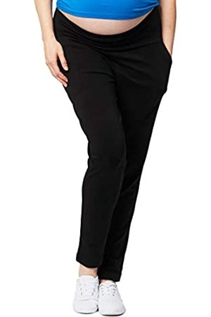 Cake Maternity Damen Womens Relaxed Soft Ponte Pant, Black