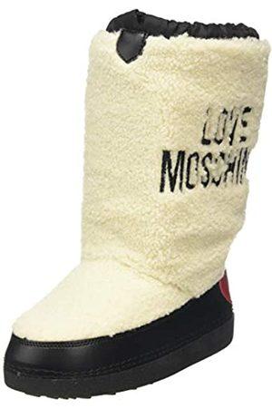 Love Moschino Damen St.ttod. Skiboot Schneestiefel, (Bianco 10a)