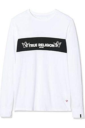 True Religion Herren Crew LS TR Langarmshirt