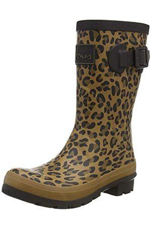 Tom Joule Damen Molly Welly Gummistiefel, (Tan Leopard Tan Leopard)