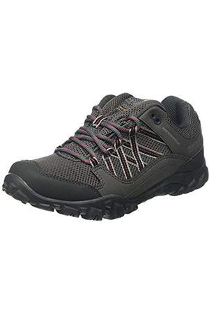 Regatta Damen edgepoint Iii' Waterproof Walking Shoes Trekking-& Wanderhalbschuhe, (Granit/Duchess 805)