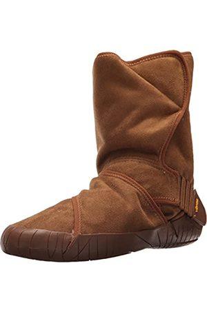 Vibram Five Fingers Vibram FiveFingers Unisex-Erwachsene Mid-Boot Classic Shearling Klassische Stiefel, (Camel Brown Camel Brown)