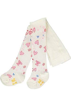 Steiff Baby-Unisex mit Herzchen-und Teddybärmotiv Strumpfhose