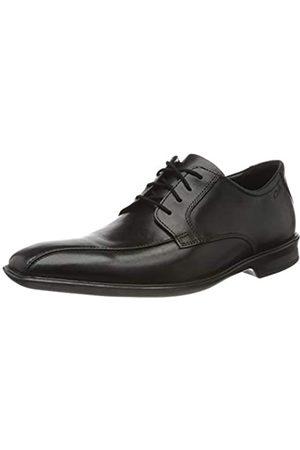 Clarks Herren Bensley Run Derbys, (Black Leather Black Leather)