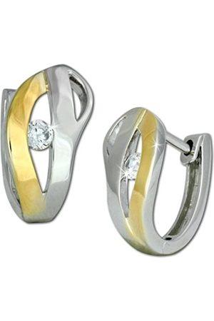 SilberDream Damen-Ohrstecker 925 Sterling Silber Zirkonia VSDO260TW