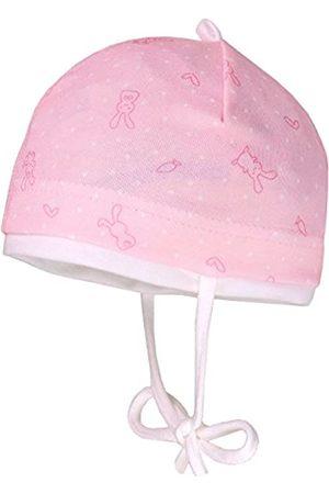 maximo Baby-Mädchen Little Rabbit Mütze, (Puderrosa/Pink-Hasen 2)