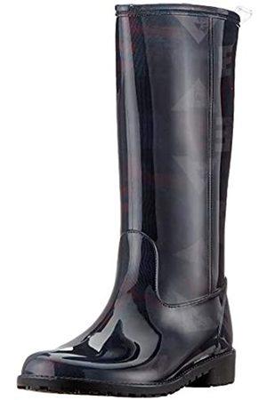 Desigual Damen Shoes MID RAIN Boot Gummistiefel, (Black 2000)