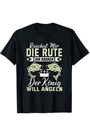 Angel Geschenke Deko Angelzubehör Köder Herren Angler Fischer Fischerhut Angel - Lustige Angel Spruch T-Shirt