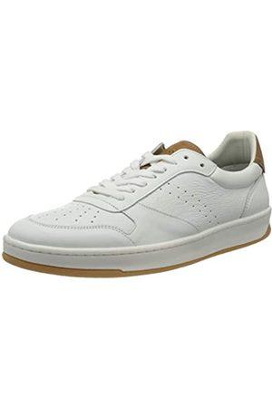 Marc O' Polo Herren 00225733501100 Sneaker, (White/Cognac 125)