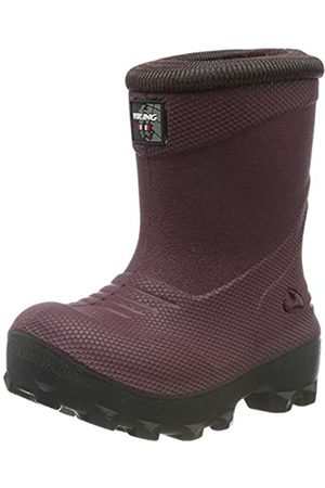 Viking Unisex-Kinder Frost Fighter Schneestiefel, (Wine/Charcoal 4177)