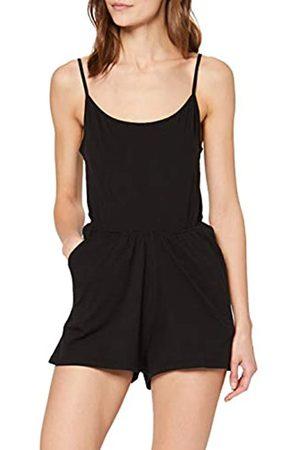 Urban classics Damen Ladies Short Spaghetti Jumpsuit