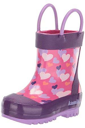 Kamik Mädchen Lovely Gummistiefel, Pink (Pink Pin)