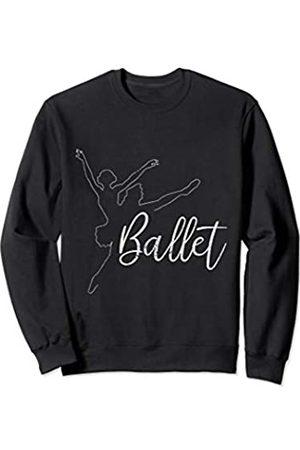 Ballett Ballerina Tanz Designs & Geschenke Ballett Tänzerin Tanzen Geschenkidee für Mädchen und Frauen Sweatshirt
