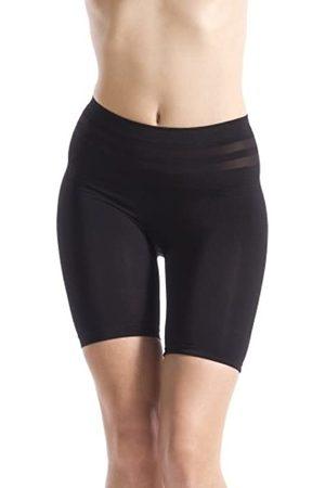 BELLY CLOUD Damen Miederhose figirformende Panty mit transparenten Zonen