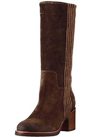 Shabbies Amsterdam Damen Phil Stiefeletten, (Dark Brown 3208)