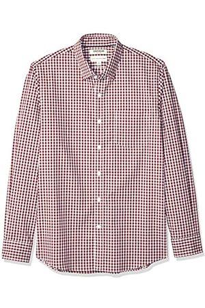 Goodthreads Amazon-Marke: Herrenhemd, langärmlig, normale Passform, Komfort-Stretch, pflegeleicht, aus Popeline