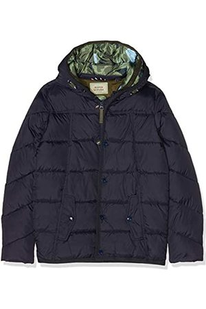 Scotch&Soda Jungen Jacke Quilted puffer jacket with double hood construction in mid l